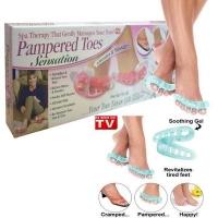 Массажер для пальцев ног С вибрацией pampered toes