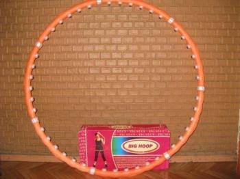 Массажный обруч хулахуп BIG hoop