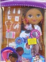 Набор С куклой доктор плюшева