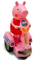 Поросенок на мотоцикле Свинка