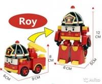 Робокар трансформер Рой (Roy)
