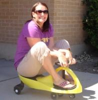 Детская самоходная машинка PlasmaCar(Плазмакар ,Бибикар)(Bibicar) желтый