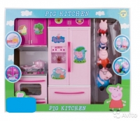 Кухня свинки и её семьи