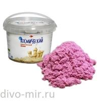 Космический песок 0.5 кг розовый