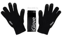 Перчатки iGlove черные