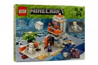 Конструктор QS08 Minecraft - 44023 Майнкрафт Снежное укрытие (358 дет.)