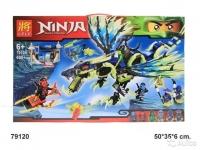 Конструктор LELE Ninja 79120 Атака Дракона Морро