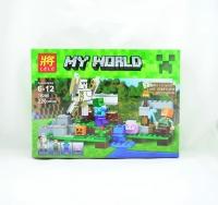 """Конструктор """"Майнкрафт"""" LELE 79280 Minecraft Железный Голем 220 деталей"""